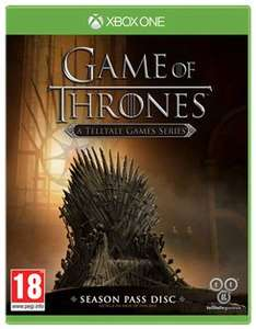 XBOX ONE Game of Thrones Season 1 Game £7.99 + free del. @ Game