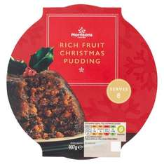 Morrisons Christmas Pudding 907g - £1