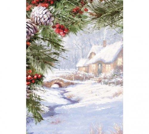 Boxed Christmas Cards  20pk, 24pk( various Designs) 29p ( 90% Off) @ Argos