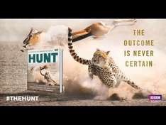 The Hunt book to accompany the TV documentary. £2.50 reduced from £25