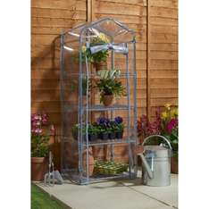 4 Tier Mini Greenhouse @ wilkos - £10 (Free C&C or £4 delivery)
