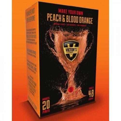 Make Your Own Peach & Blood Orange Cider Kit Brew 20 pints in 48 hrs. Around 38p a pint!! At Wilkos - £7.50