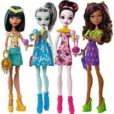 Monster high 4 pack reduced from £50 to £15 @ Asda instore.