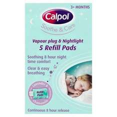 Calpol vapour plug ins refill pack only £3.59 online and instore @ Lloyd's pharmacy.Plugs with refill only £4.19 aswell.
