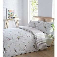 Final clearance upto 70% off bedding eg Scandi bird king size duvet set was £70 now £21 plus free £5 voucher if you click & collect orders over £30 @ Debenhams