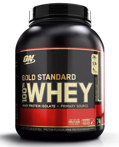 Optimum Nutrition Gold 2.27kg - £30.67 with voucher @ Amazon (Lightning Deal)
