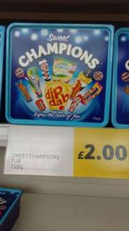 sweet champions now £2 @ tesco instore