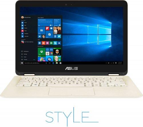 "ASUS ZenBook Flip UX360CA 13.3"" 2 in 1 - Gold Currys with voucher  INTEL10 £674.99"