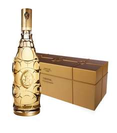 Louis Roederer Cristal Gold Caged Jeroboam Champagne, Limited Edition, 2002. Was £16,995.00..... NOW £1605.95 Inc postage. (Save £15,395.00!!!) @ Harrods