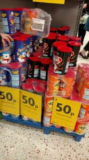 twiglets, mini chedders and cheeselets 50p @ morrisons