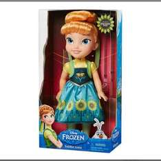Disney Frozen Toddler Anna Doll £10.00 (£12.00 click collect or £13.50 delivered) John Lewis