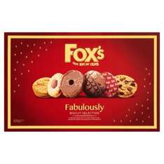 Fox's Fabulously Biscuit Selection 800g £1.50 @ Morrisons - Bradford