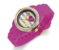 PAULS BOUTIQUE PINK WATCH W/GIFT BOX BARGAIN PRICE £2.99 / £6.98 delivered @ HALFCOST