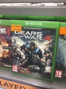 [Xbox One] Gears of War 4 (Pre-Owned) - £14.99 - Smyths