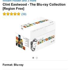 Clint Eastwood collection bluray £14 @ amazon