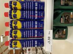 WD40 600ml Trade Size £3.50 @ Tesco in store. Normal white label - National?