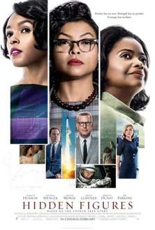 Free tickets to Hidden figures from EDF