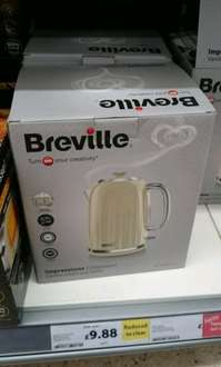 Breville Impressions 1.7L Jug Kettle in Vanilla Cream only £9.88 in store at Tesco