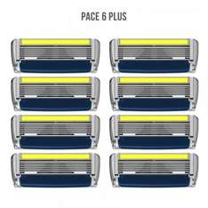 32 Razor blades Pace6 by Dorco @ £19.99
