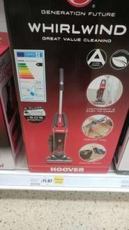 Hoover Whirlwind £11.87 @ Tesco (instore)