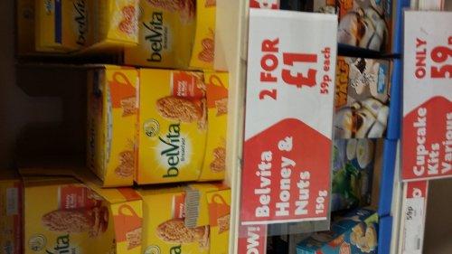 Belvita breakfast biscuits 2 boxes £1 heron foods