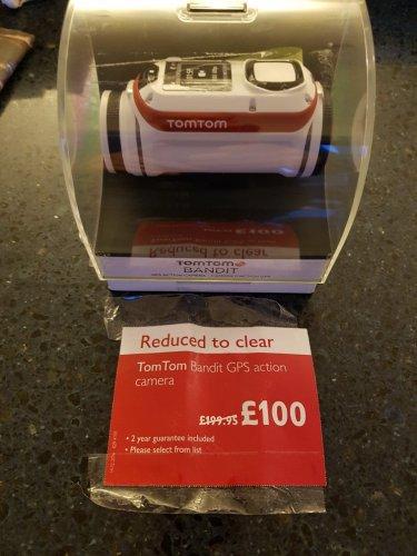 Tomtom Bandit action camera £100 @ John Lewis instore