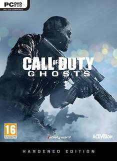 Call of Duty: Ghosts - Digital Hardened Edition (Steam) £6.88 @ Instant Gaming