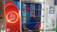 Seven Seas Joint Care Active with Omega 3 & Chondroitin 60's £3 in-store Bargain Buys Newcastle