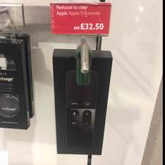 Apple TV 4 Siri remotes down from £65 to £32.50 instore at John Lewis Westfield Stratford east london.