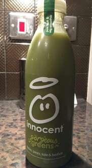 Innocent Gorgeous Greens Smoothie 59p instore @ Heron Foods
