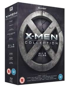 X-Men Collection (Blu-Ray) £14.79 Delivered @ Base (DVD £11.09)