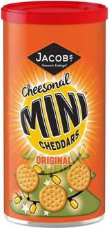 Jacobs Cheeselets Caddy (280g) was £1.00 now 50p @ Morrisons