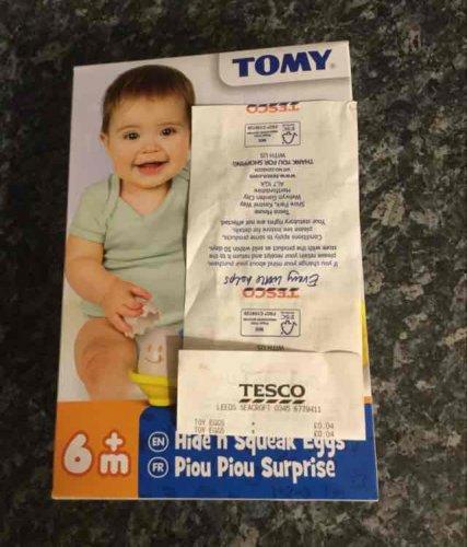 Tesco Hide n squeak eggs - 4p instore @ Tesco (Leeds)