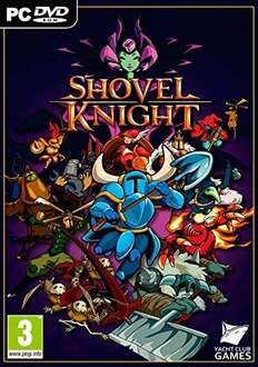 Shovel Knight (PC) Physical - £4.75 (Prime) / £6.74 (non-Prime) - Sold by MediaMerchants and Fulfilled by Amazon - includes OST/DRM Free/Steam key
