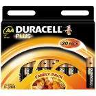 Duracell Plus Batteries AA 20 Pack at Amazon £6.98 Delivered!