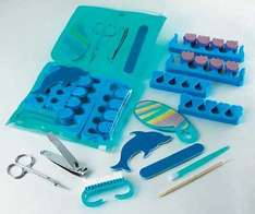 Luxury Dolphin Complete Pedicure Set @ Amazon sold by Icebenice.  £4.34 delivered