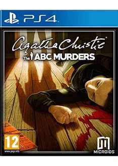 Agatha Christie: The ABC Murders (PS4) £11.79 Delivered @ Base