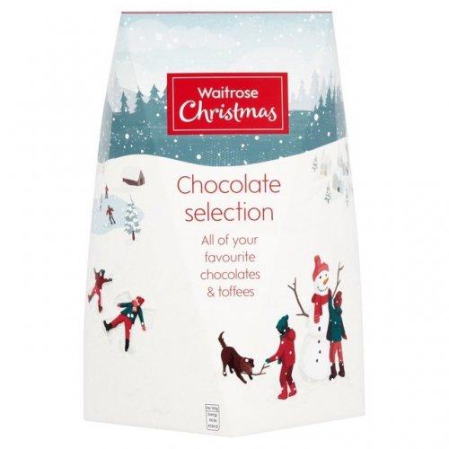 Waitrose Christmas Large Chocolate & Toffee Selection Box800g £1.00 @ Waitrose/Ocado online
