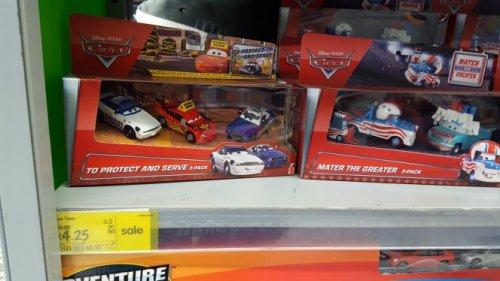 Disney Cars, 3 Pack £4.25 at Asda instore (Fareham)