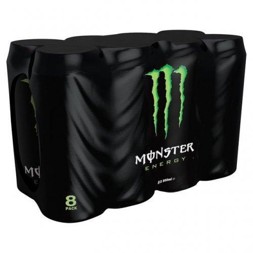 Monster Original Energy Drink 8 x 500ml for £4.00 at Morrisons
