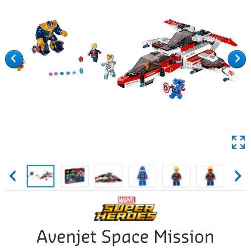 Lego 76049 Avenjet Marvel Super Heroes £24.99 at Lego Shop