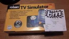 ROLSON TV SECURITY SIMULATOR, WAS £9.99 now £2.99 @ B&M