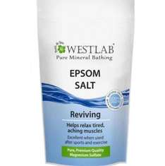 1kg Epsom salt £2.49 home bargains