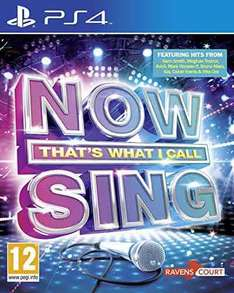Now That's What I Call Sing 2016 (PS4/Xbox One) £6.99 (Prime) £8.98 (Non-prime) @ Sold by Wowudo and Fulfilled by Amazon