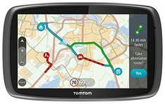 TomTom GO 6100 6 inch Sat Nav with World Maps (Sim Card and Unlimited Data Included) - Black £199.99 Amazon