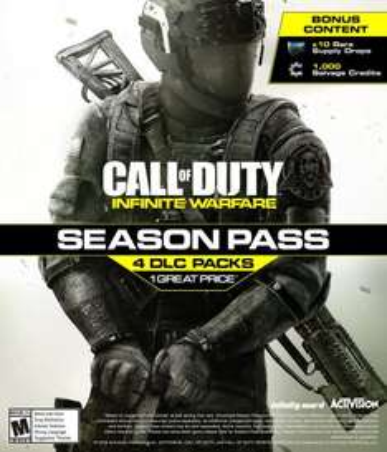 PS4 Call of Duty Infinite Warfare Season Pass with £5 PSN credit £38.86 Shopto
