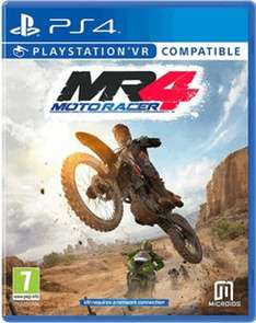 Moto Racer 4 (XO/PS4/PSVR) £14.99 Delivered @ GAME (Amazon With Prime)