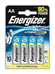 AA & AAA x 4 Energizer Hightech Batteries for 49p instore @ Superdrug