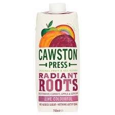 Cawston Press Radiant Roots 330ml, half price, 74p @ Waitrose