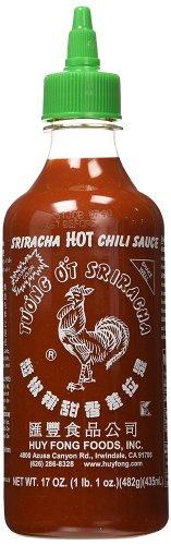 'Rooster' Sriracha Hot Chili Sauce, 17oz (482g/435ml) £1.41 'Add-on item' @ Amazon